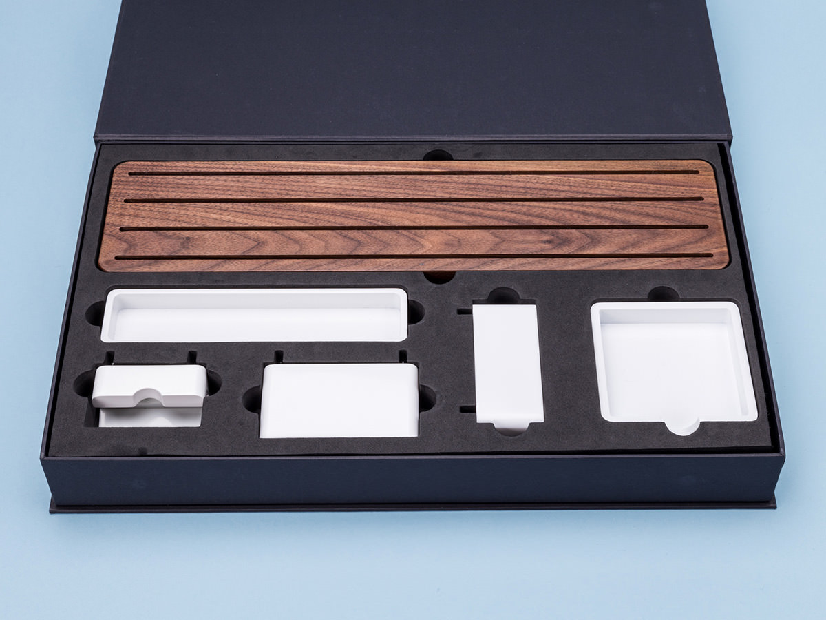 Gather modular desk organizer imboldn - Modular desk organizer ...