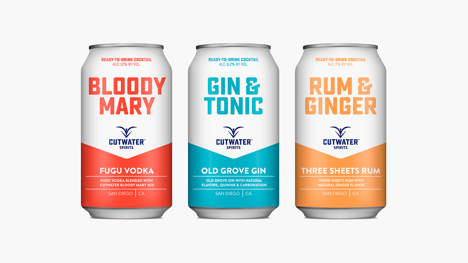 Cutwater Canned Cocktails