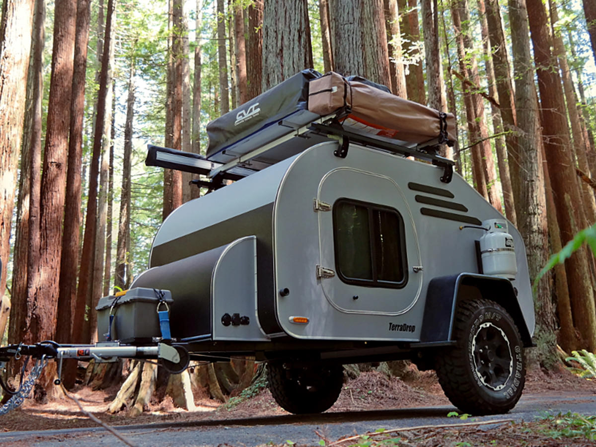 Oregon Trail'R TerraDrop Off-Road Teardrop Trailer - IMBOLDN