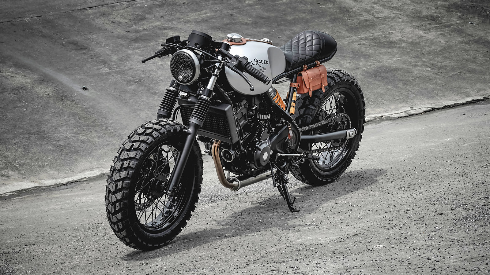 Mad Max Motorcycle >> Zeus Custom Honda 300 Rebel Racer - IMBOLDN